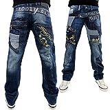 Brooklyn Mint Rock n Roll Jeans - Blau Stone Wash, 34W x 33L