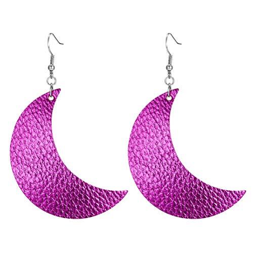 TENDYCOCO Orecchini a forma di luna Orecchini moda