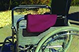 Deluxe Wheelchair Armrest Pouch with Zipper Top - Navy Blue
