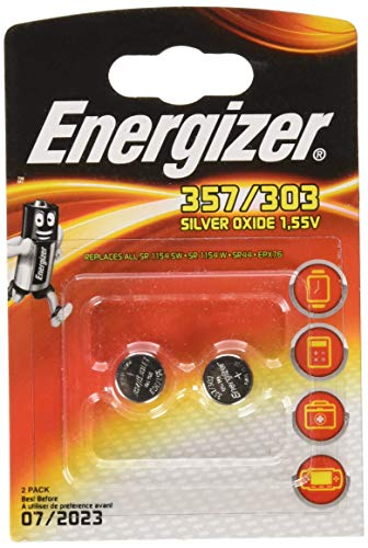 Energizer Silver Oxide SR44/Epx76 Pip2 Battery