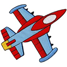 Avión Jet Boquillas Jet de aviones parche plancha de
