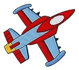 Flugzeug Jet Düsenjet Düsenflieger Aufnäher Bügelbild