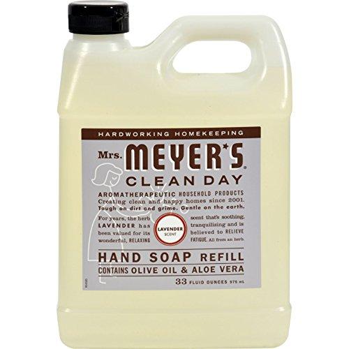 Meyers Lavande Savon liquide recharge Contient l'huile d'olive et l'aloe vera (935,5 gram)