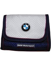 PUMA BMW Zusammenarbeit tri-fold Geldbörse Weiß / Blau M 070743-01