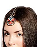 Young & Forever Valentine Gifts for Girlfriend Valentine Gift for Boyfriend Love Paradiso Exotic Hair Tiara for Women (HA90140)