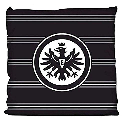 Eintracht Frankfurt Kissen 'Black Eagle' in 38 x 38 cm
