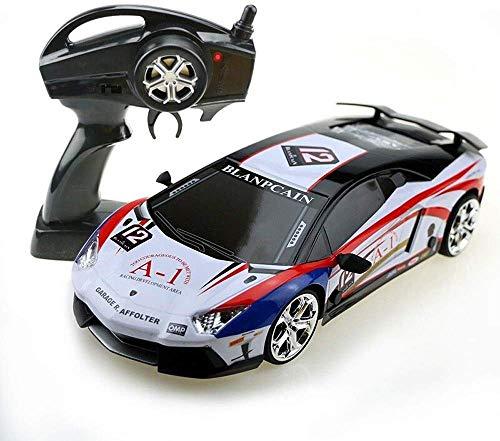 MECFIGH RC Auto 2.4Ghz elettrica ad Alta velocità RTR Telecomando 1:16 Modello Sports Car Drift Racing Race Driver a Quattro Ruote Migliore Regalo for Adulti o Bambini di Regalo Bianco