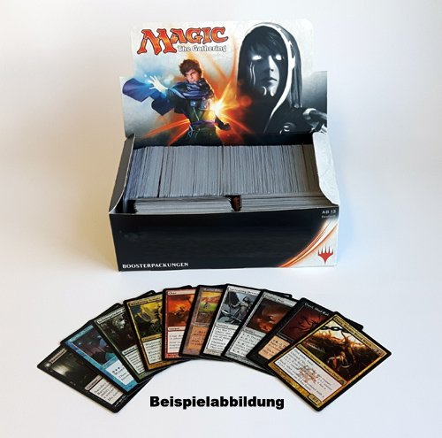 Magic The Gathering: ca. 800 Karten +