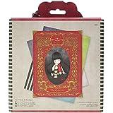 Simply Gorjuss - Pack de tarjetas y sobre (12 unidades, 15,3 cm x 15,3 cm), multicolor