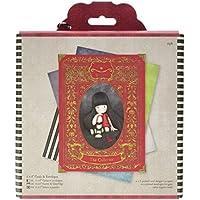 Simply Gorjuss - Pack de tarjetas y sobre (12 unidades, 15,3 cm x 15,3 cm)