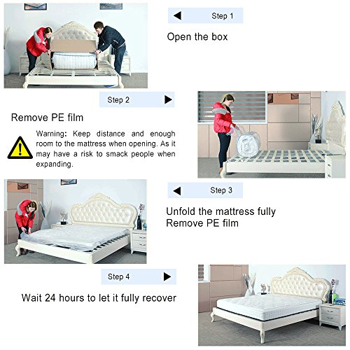 Vesgantti 5FT UK King Size Pocket Sprung and Memory Foam Mattress with Ergonomic Design Sleeping Zone – More Sizes Available: 3FT Single / 4FT Small Double / 4FT6 Double