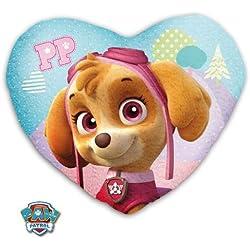 Cojín con forma corazón Skye de Paw Patrol La Patrulla Canina