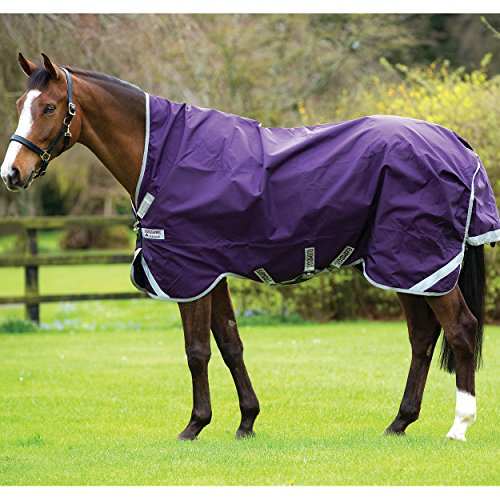 Horseware Rambo Wug Weidedecke (Regendecke) 145cm ohne Füllung Purple/Silver -