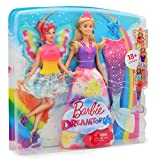 Barbie Dreamtopia Rainbow Lights Mermaid Fashion Doll Accessories Princess Butterfly Dolls