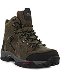 Trespass - Botas de montaña / trekking con cordones e impermeable Modelo Rhode para hombre caballero