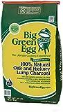 Big Green Egg 390011 100 Percent Natural Oak And Hickory Lump Charcoal - Green