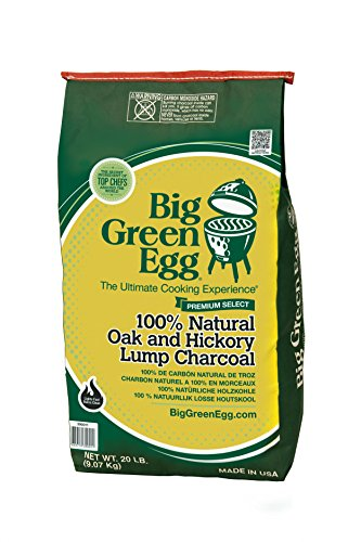 Big-Green-Egg-390011-100-Percent-Natural-Oak-And-Hickory-Lump-Charcoal-Green