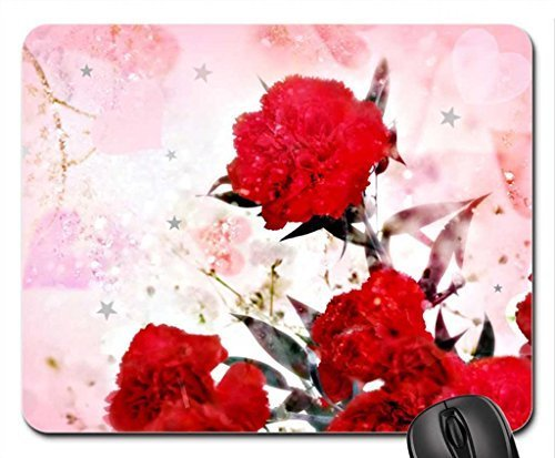 carnations-on-pink-mouse-pad-mousepad-flowers-mouse-pad