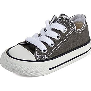 Converse - Kleinkind / Jugend Allstar Low Chuck Taylor-Schuhe in der Holzkohle, EUR: 18, Charcoal