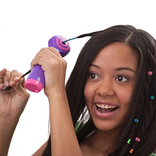MagnusDeal® Glam Twirl- Automatic Hair Braider & Wrapper- create 100 dazzling hairstyles