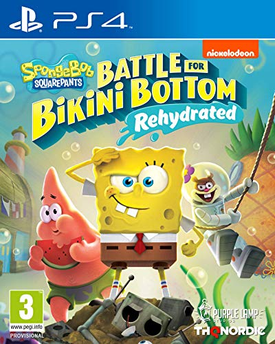 Spongebob SquarePants: Battle for Bikini Bottom - Rehydrated (PS4) (PS4) Best Price and Cheapest