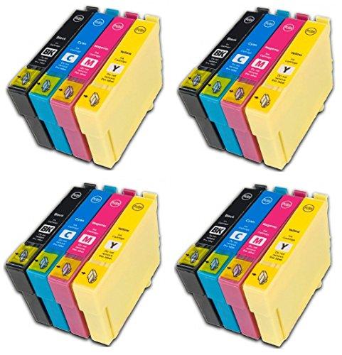 Preisvergleich Produktbild Prestige Cartridge 16 x Epson 27XL Tintenpatronen, schwarz/cyan/magenta/gelb
