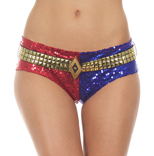 Suicide Squad Harley Quinn Deluxe Sequins Panty ()