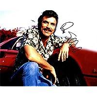 Tom Selleck Magnum PI Blue Bloods Autographed Signed 11x14 Photo AFTAL UACC RD