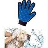 Takestop Fellpflegehandschuh für Haustiere, Bürste für kurz- und langhaarige Hunde, Katzen, Kaninchen, Pferde, Massagehandschuh - 3