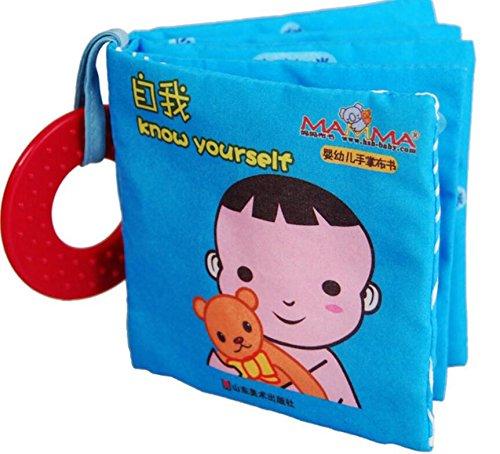 Achun Stoff Buch Soft Toys Aktivität Spielzeug von Geburt für die Dusche Geburtstagsgeschenk Jungen Mädchen