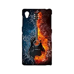 BLUEDIO Designer 3D Printed Back case cover for Sony Xperia Z1 - G1942