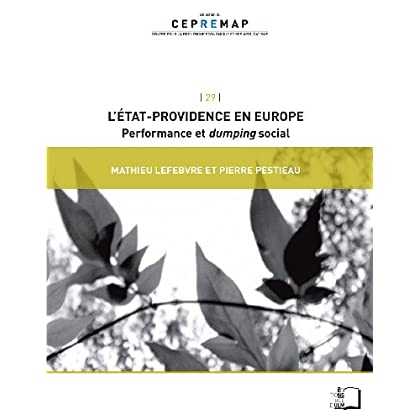 L'État-providence en Europe - Performance et dumping social (collection du CEPREMAP t. 29)