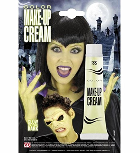 Leuchtende Halloween make up creme, glow in the (Glow Dark The In Creme Make Up)