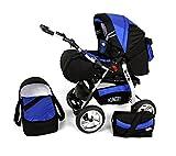 Clamaro 2 in 1 'VIP Volver' Kombi Kinderwagen mit Schwenkräder inkl. Babywanne und Sport...