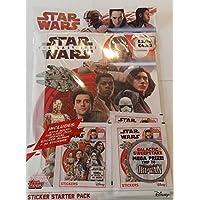 Topps sw173Star Wars Episode VIII–Álbum + pegatinas