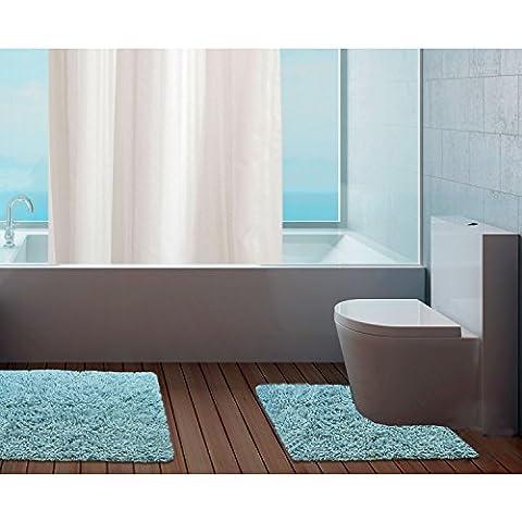 Just Contempo–Set di tappetino da bagno e