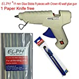 ELPH 11 mm Glue Stick 9 Pieces + 40 Watt...