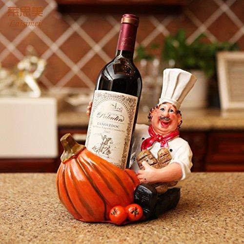 Flaschen wine rack,Europäischer wein inhaber kreativ stark und dekorativ wein standing oranament...