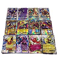 100 Pcs Pokemon EX GX MEGA Trainer Energy Cards(59EX+20MEGA+20GX+1Energy)
