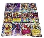 100 Pcs Pokemon EX GX MEGA Trainer Energy Cards(59EX+20MEGA+20GX+1Energy)
