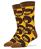Bob Ross Flash Mob Men's Crew Socks