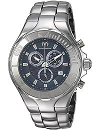Technomarine Men's 'Cruise' Quartz Ceramic Casual Watch, Color Silver-Toned (Model: TM-115320)