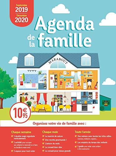 Mini Agenda de la famille 2019-2020 par Marabout