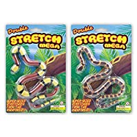 Blue Frog Toys Mega Stretch Snake Toy - Stretches to 5ft long! Assorted Colour