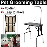 Beyondfashion 75cm x 46cm x 82cm Portable Foldable Dog Pet Large Grooming Table Excellent Working Platform Waterproof… 16