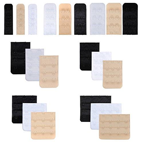 Closecret Nylon BH Extender von Frauen,Multi-Größe für Sich Entscheiden(21er-Pack)(Alles in - Schwangere Lady Kostüm