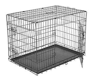 PawHut 5663-1299XXL Transportkäfig für Haustier, schwarz