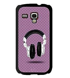 Printvisa 2D Printed Music Designer back case cover for Samsung S3 I8190 Mini - D4488
