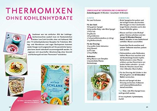 Mix dich schlank: Über 75 Low-Carb-Rezepte für den Thermomix® - Für TM5 & TM31 - 2