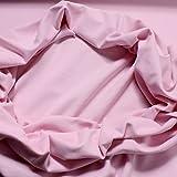 0,5 Meter Baumwolle Elastan Bündchen rosa kbA GOTS 78 cm